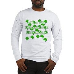 21 Shamrock Birthday Long Sleeve T-Shirt