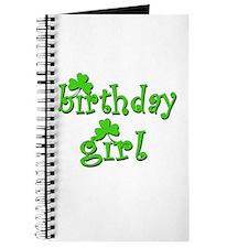 Irish Birthday Girl Journal