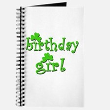 Irish Birthday Girl Journal