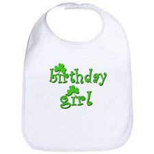Irish Birthday Girl Bib