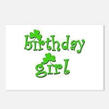 Irish Birthday Girl Postcards (Package of 8)