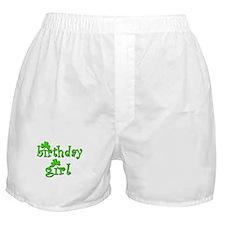 Irish Birthday Girl Boxer Shorts