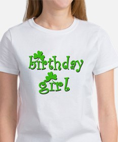 Irish Birthday Girl Women's T-Shirt