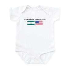 El Salvadoran American Pride Infant Bodysuit