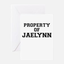 Property of JAELYNN Greeting Cards
