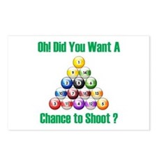 Chance To Shoot Postcards (Package of 8)