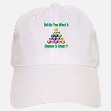 Chance To Shoot Baseball Baseball Cap