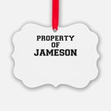 Property of JAMESON Ornament