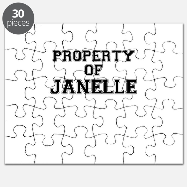 Property of JANELLE Puzzle