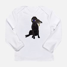 lab with duck Long Sleeve T-Shirt