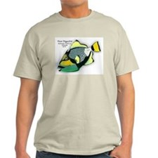 Titan Triggerfish Ash Grey T-Shirt
