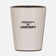 Property of JANEWAY Shot Glass