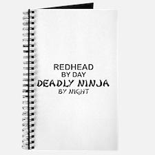 Redhead Deadly Ninja Journal