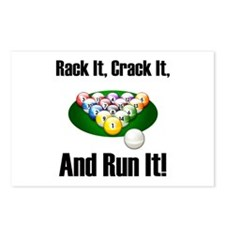 Rack It, Crack It Postcards (Package of 8)
