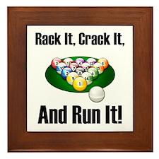 Rack It, Crack It Framed Tile