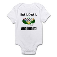 Rack It, Crack It Infant Bodysuit