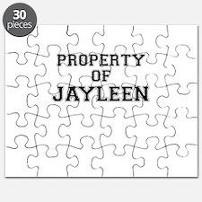 Property of JAYLEEN Puzzle
