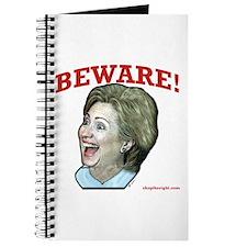 Beware of Hillary Journal