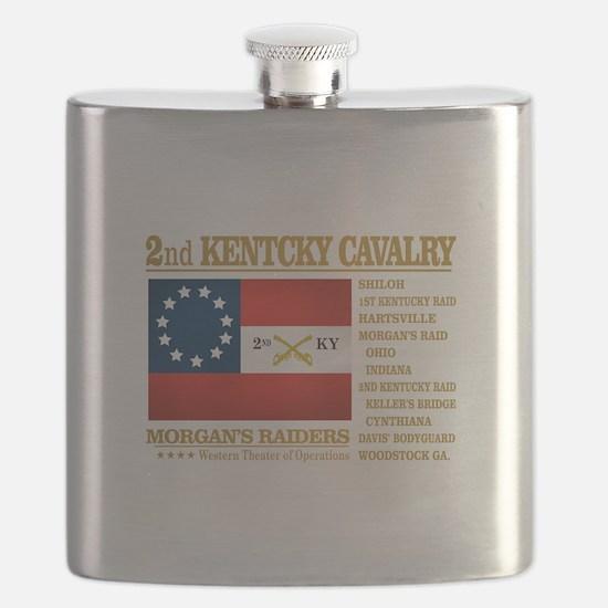 2nd Kentucky Cavalry Flask