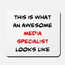 awesome media specialist Mousepad