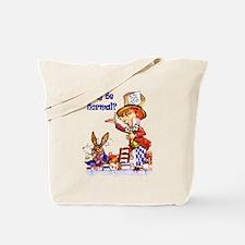 MAD HATTER - BLUE Tote Bag