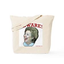 Beware of Hillary Tote Bag