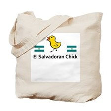 El Salvadoran Chick Tote Bag