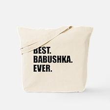Best Babushka Ever Drinkware Tote Bag