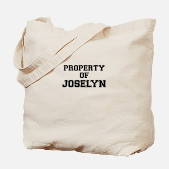 Property of JOSELYN Tote Bag