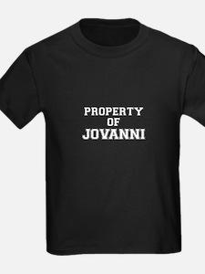 Property of JOVANNI T-Shirt