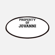 Property of JOVANNI Patch