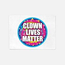 Clown Lives Matter 5'x7'Area Rug