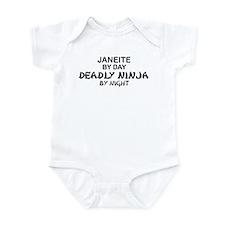 Janeite Deadly Ninja Infant Bodysuit