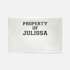 Property of JULISSA Magnets