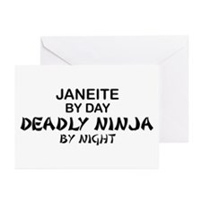 Janeite Deadly Ninja Greeting Cards (Pk of 10)