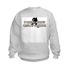 Anaheim Hockey Grandpa Sweatshirt