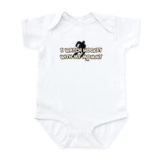 Anaheim Hockey Mommy Infant Bodysuit