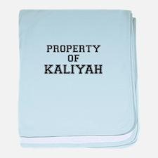 Property of KALIYAH baby blanket