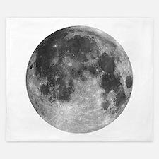 Beautiful full moon King Duvet