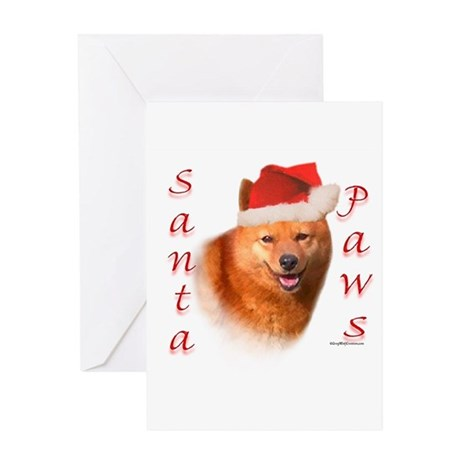 Spitz Paws Greeting Card