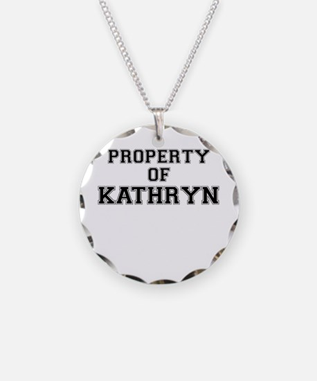 Property of KATHRYN Necklace
