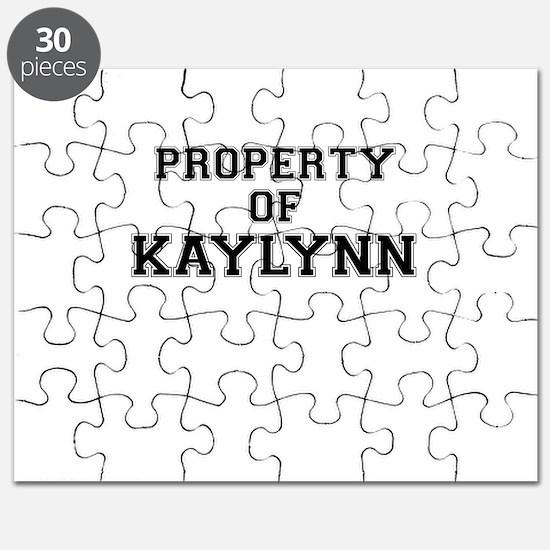 Property of KAYLYNN Puzzle