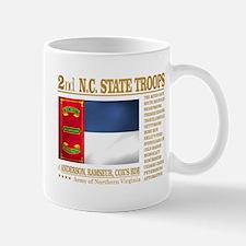 2nd NC State Troops Mugs