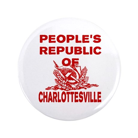 "Charlottesville 3.5"" Button (100 pack)"