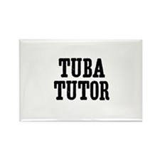 Tuba tutor Rectangle Magnet