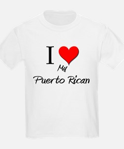 I Love My Puerto Rican T-Shirt