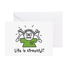 Cute Stress Greeting Card