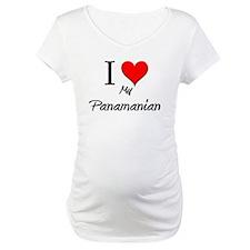 I Love My Panamanian Shirt
