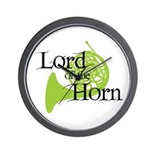 Lord of the Horn Wall Clock
