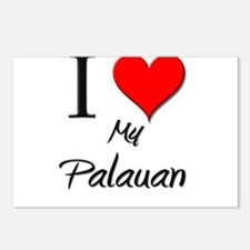 I Love My Palauan Postcards (Package of 8)